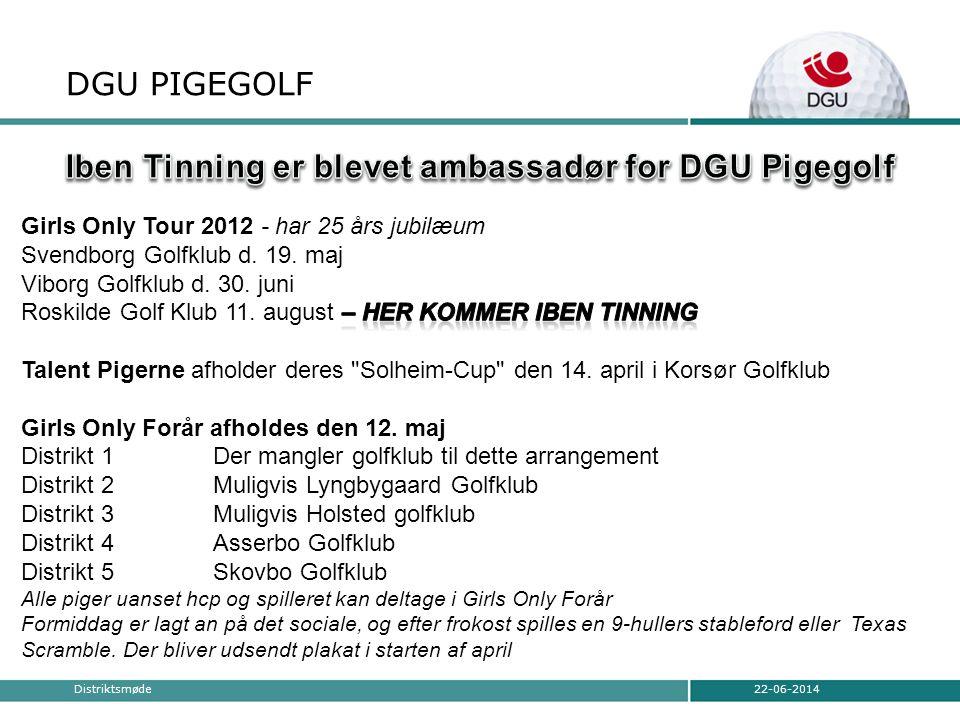 DGU PIGEGOLF 22-06-2014Distriktsmøde