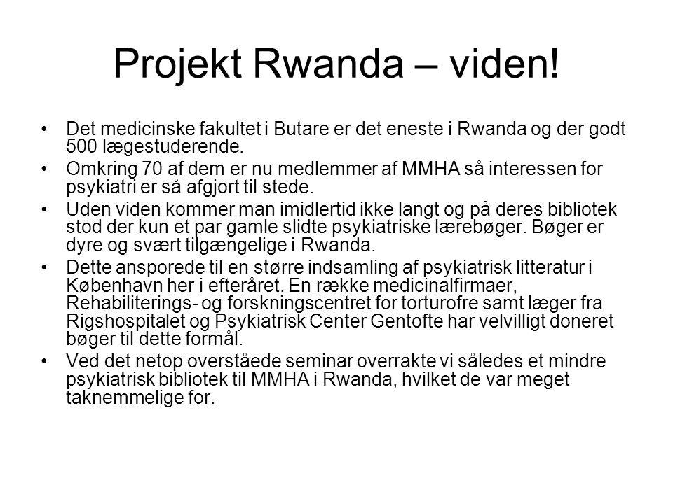 Projekt Rwanda – viden.
