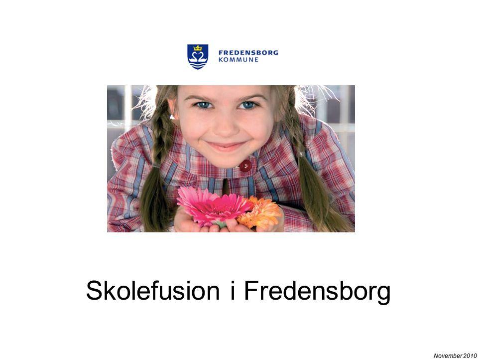 November 2010 Skolefusion i Fredensborg