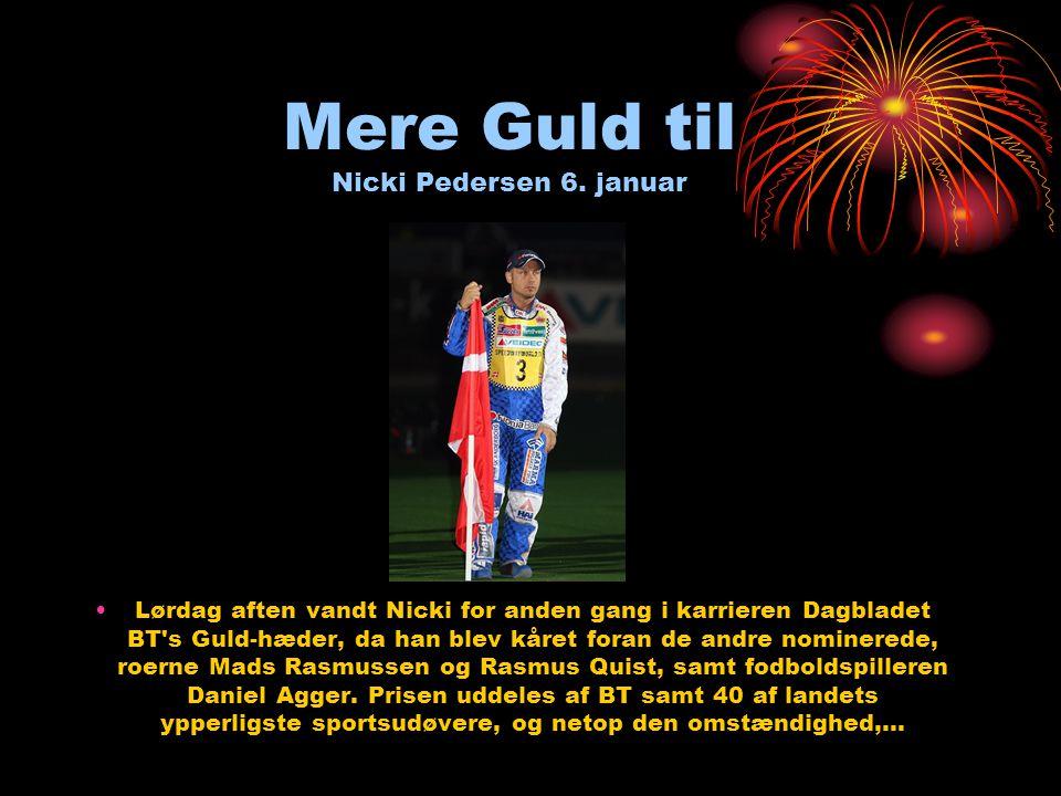 Mere Guld til Nicki Pedersen 6.