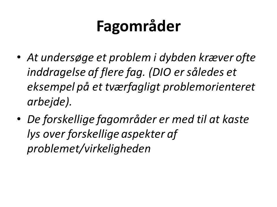 Taksonomi i iø Redegørende niveau: • Fokus på fakta.
