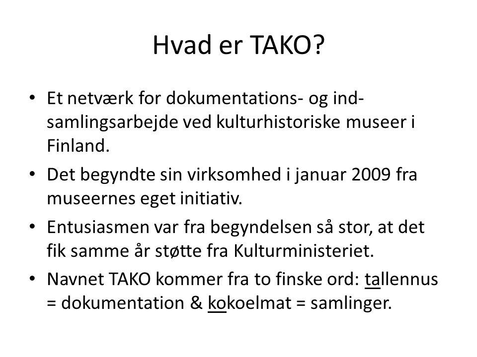 Hvad er TAKO.