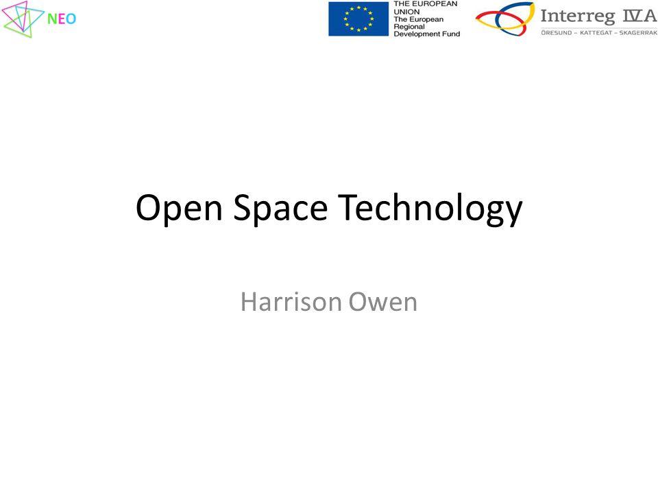 Open Space Technology Harrison Owen