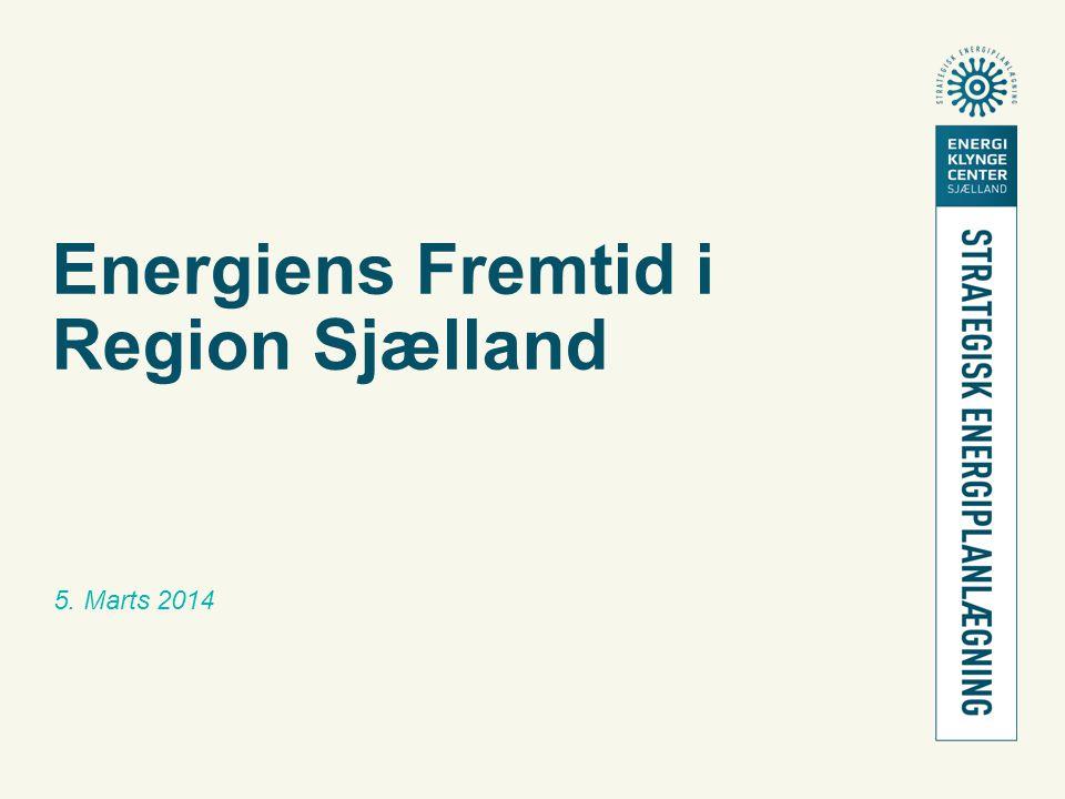 Energiens Fremtid i Region Sjælland 5. Marts 2014