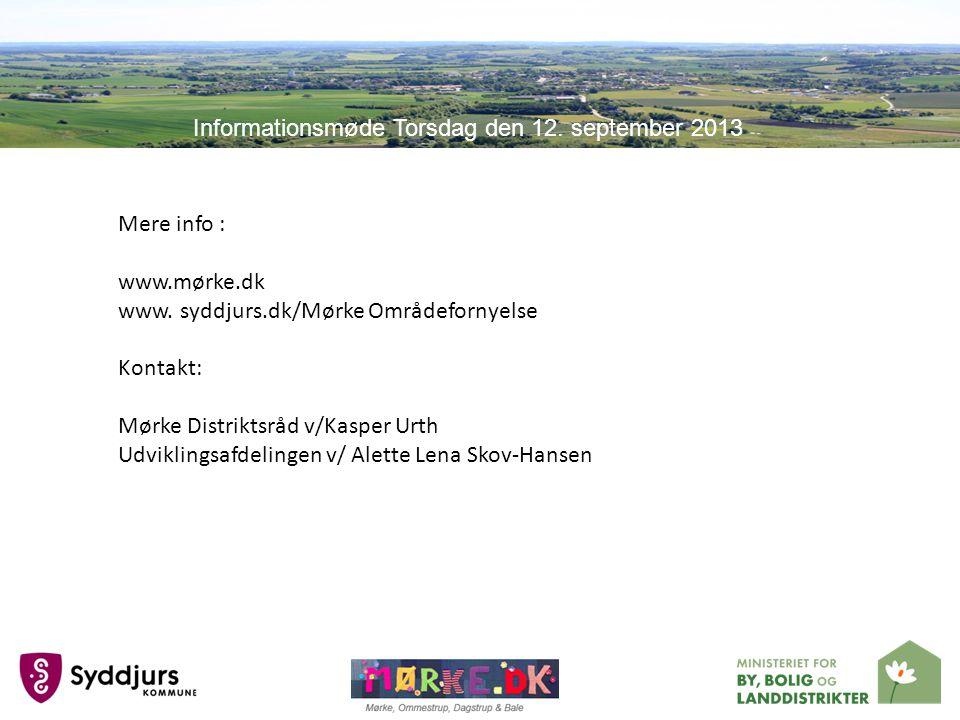 Mere info : www.mørke.dk www.