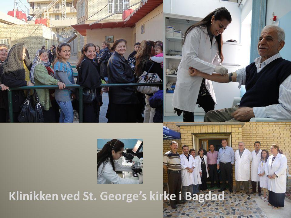 Klinikken ved St. George's kirke i Bagdad