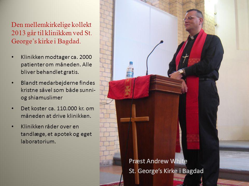 Præst Andrew White St.