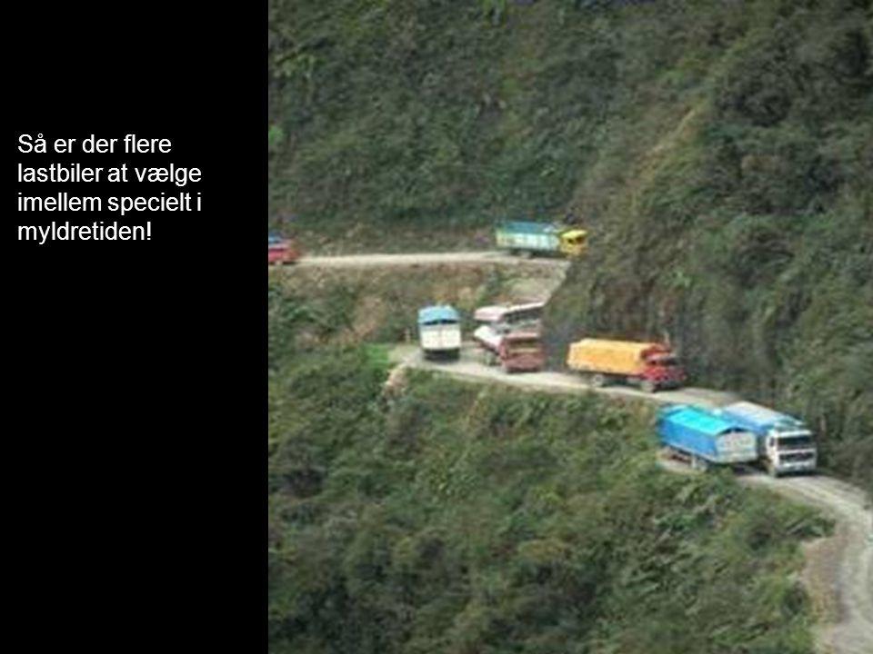 Så er der flere lastbiler at vælge imellem specielt i myldretiden!