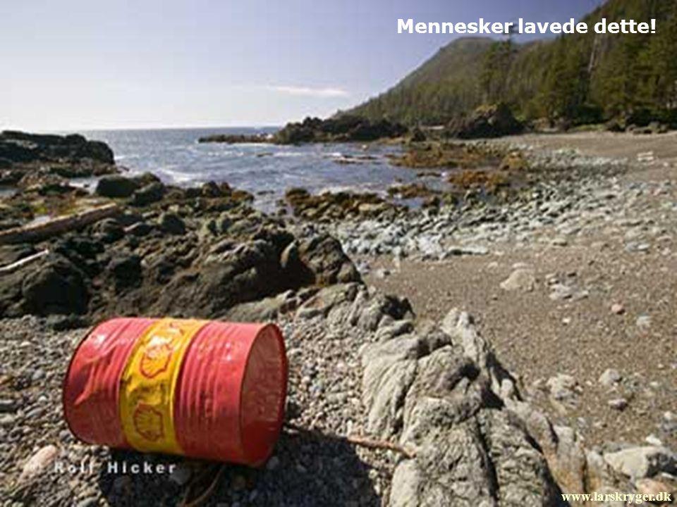 Mennesker lavede dette! www.larskryger.dk