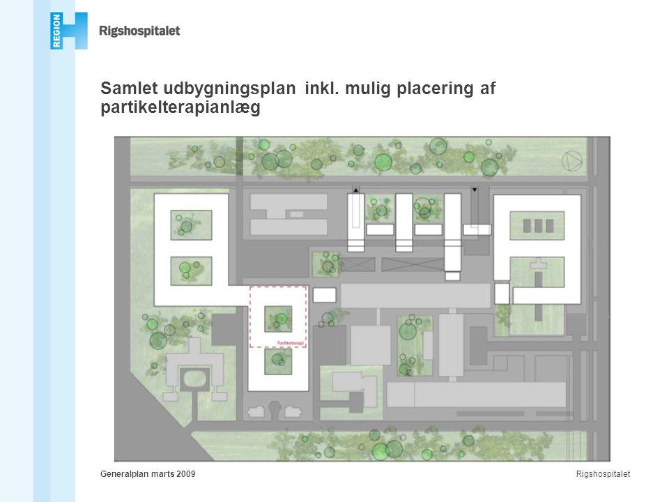 RigshospitaletGeneralplan marts 2009 Samlet udbygningsplan inkl.