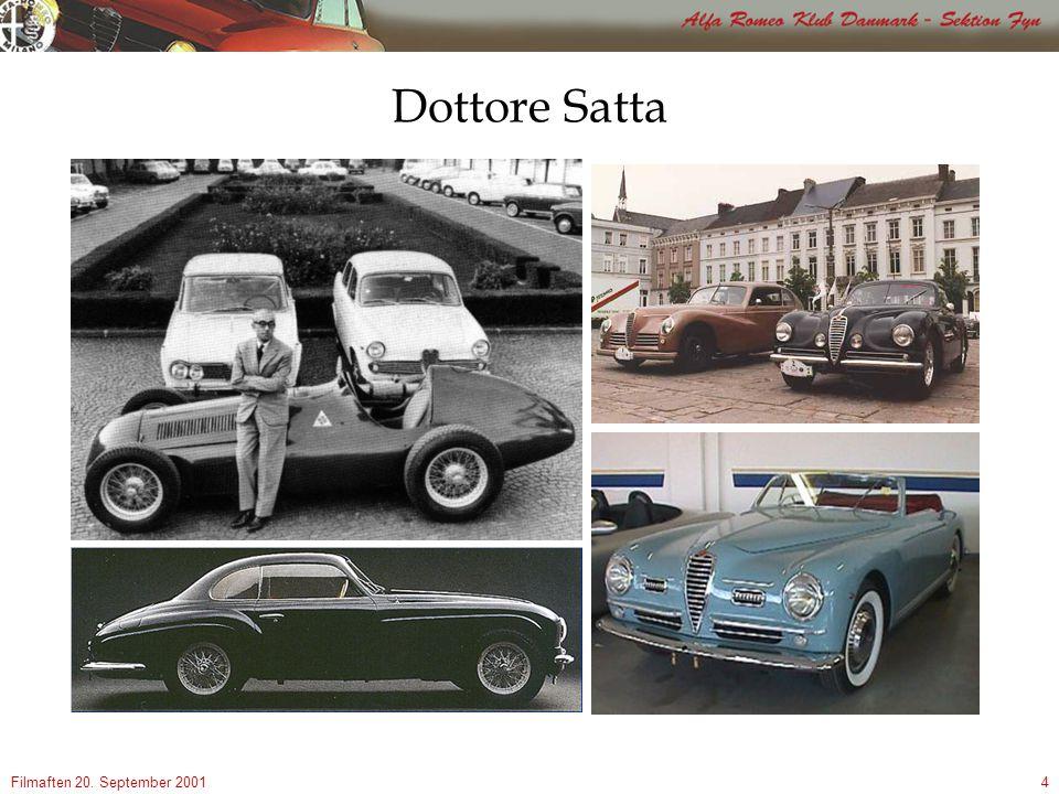 Filmaften 20. September 20014 Dottore Satta