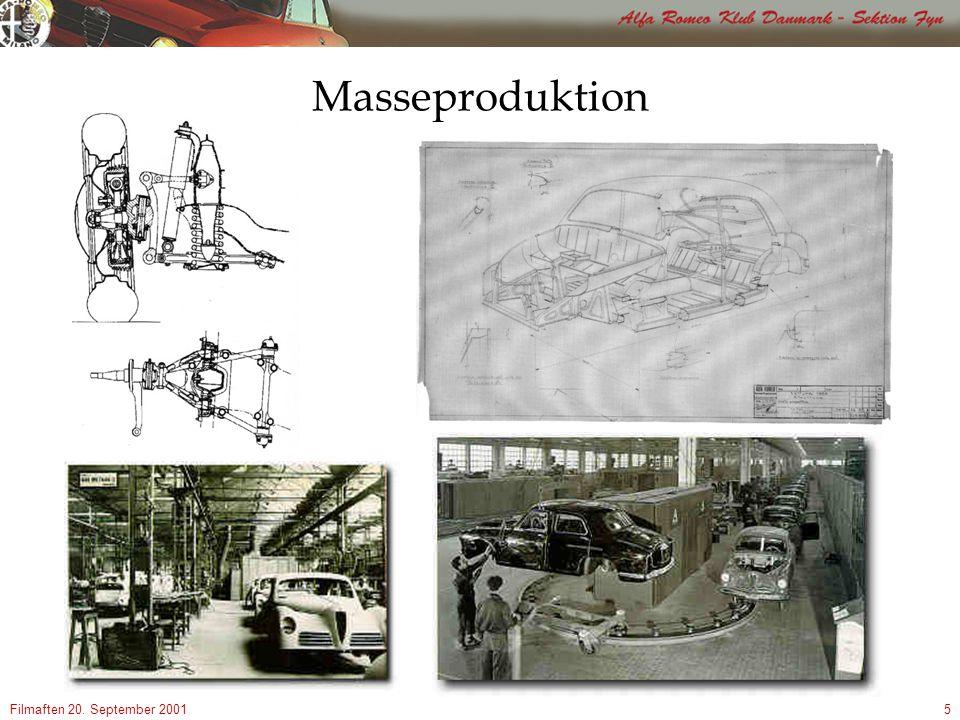 Filmaften 20. September 20015 Masseproduktion