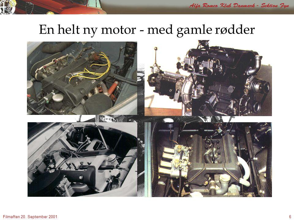 Filmaften 20. September 20016 En helt ny motor - med gamle rødder