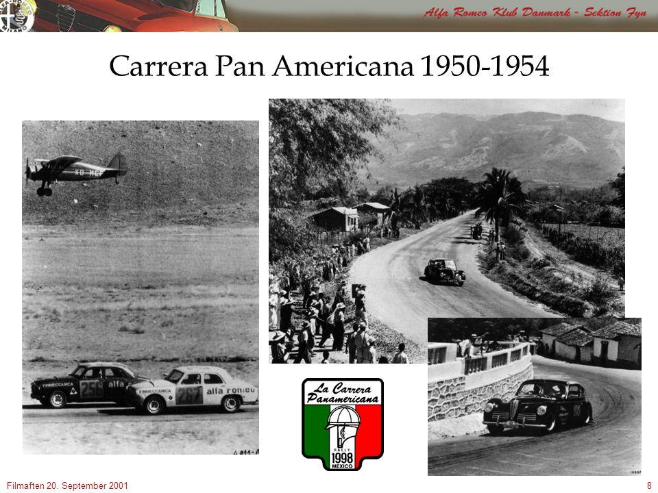 Filmaften 20. September 20018 Carrera Pan Americana 1950-1954