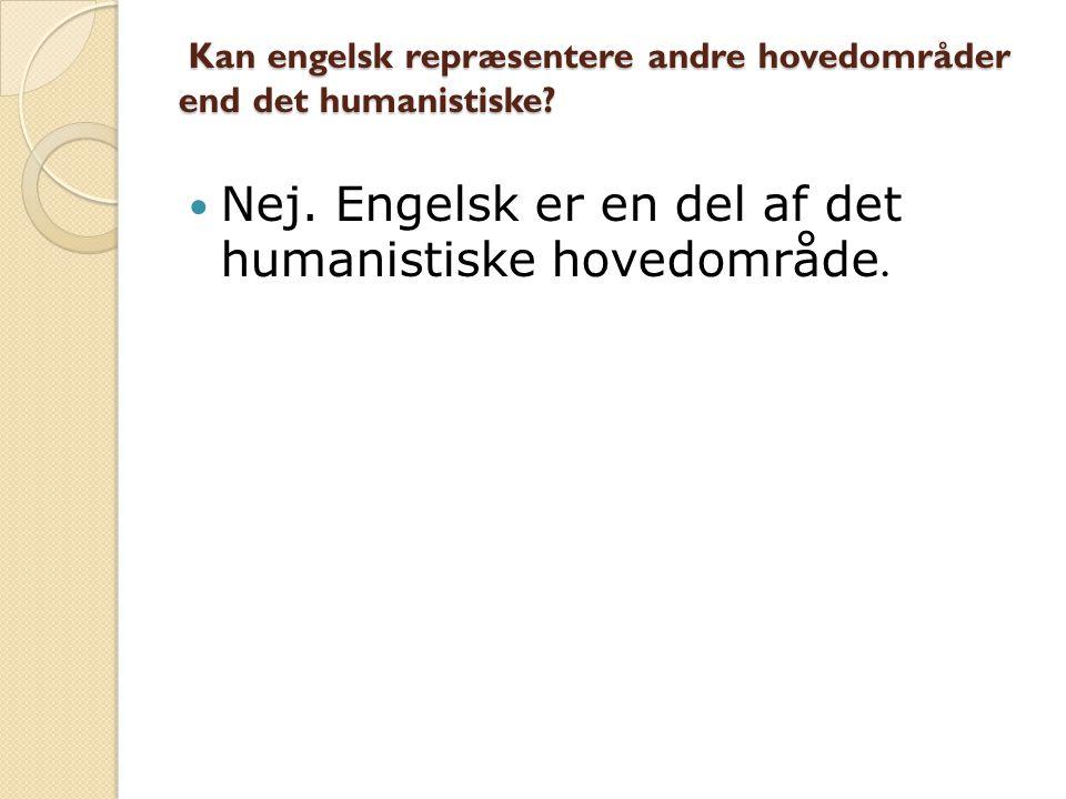 Kan man bruge engelsk litteratur, der er oversat til dansk, i den del af arbejdet, der berører engelsk.