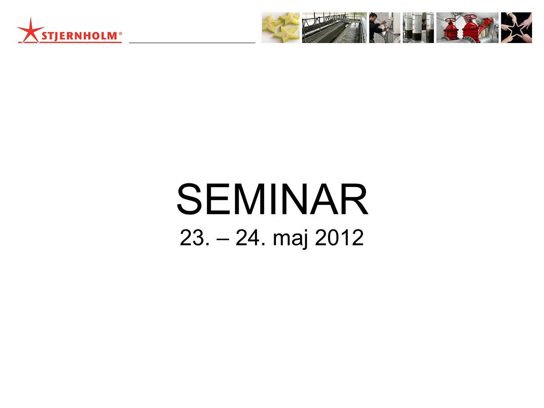 SEMINAR 23. – 24. maj 2012