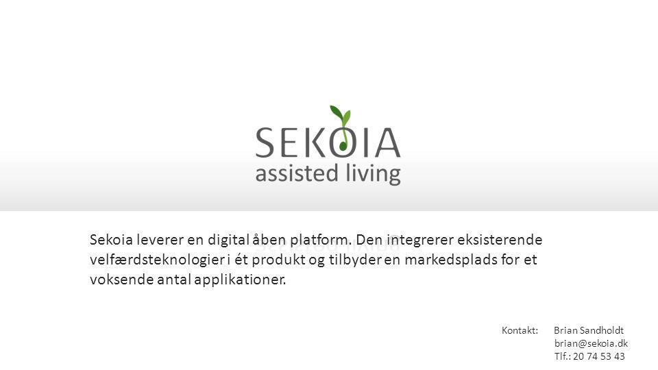 Sekoia leverer en digital åben platform.