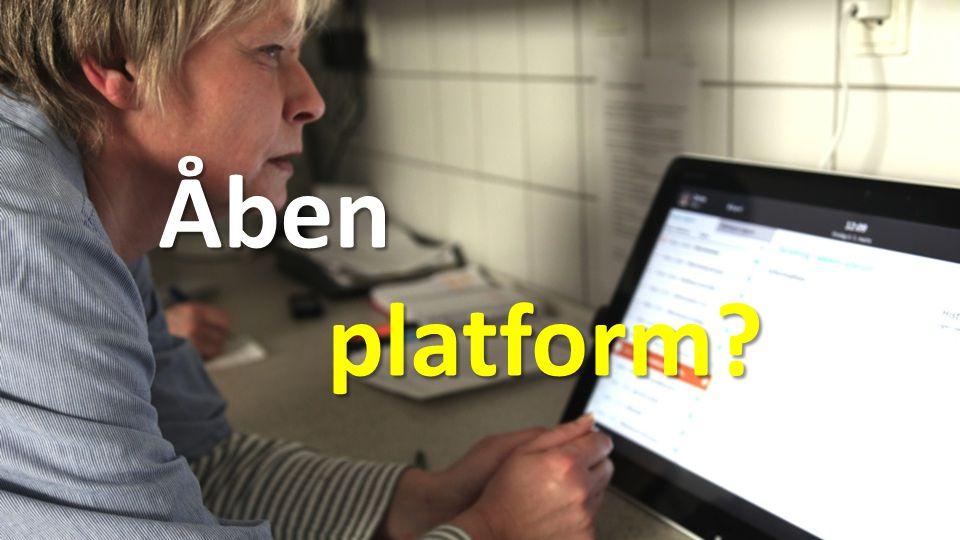 Åben platform platform Åben