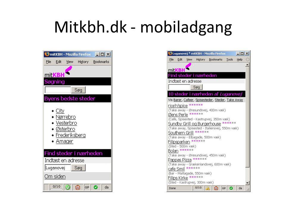 Mitkbh.dk - mobiladgang