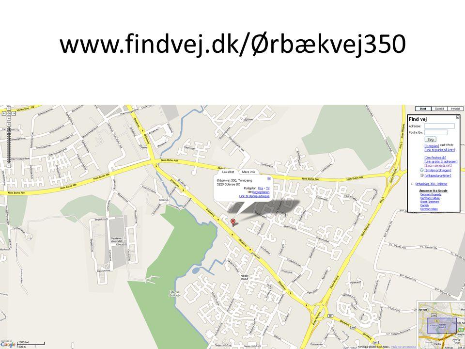 www.findvej.dk/Ørbækvej350