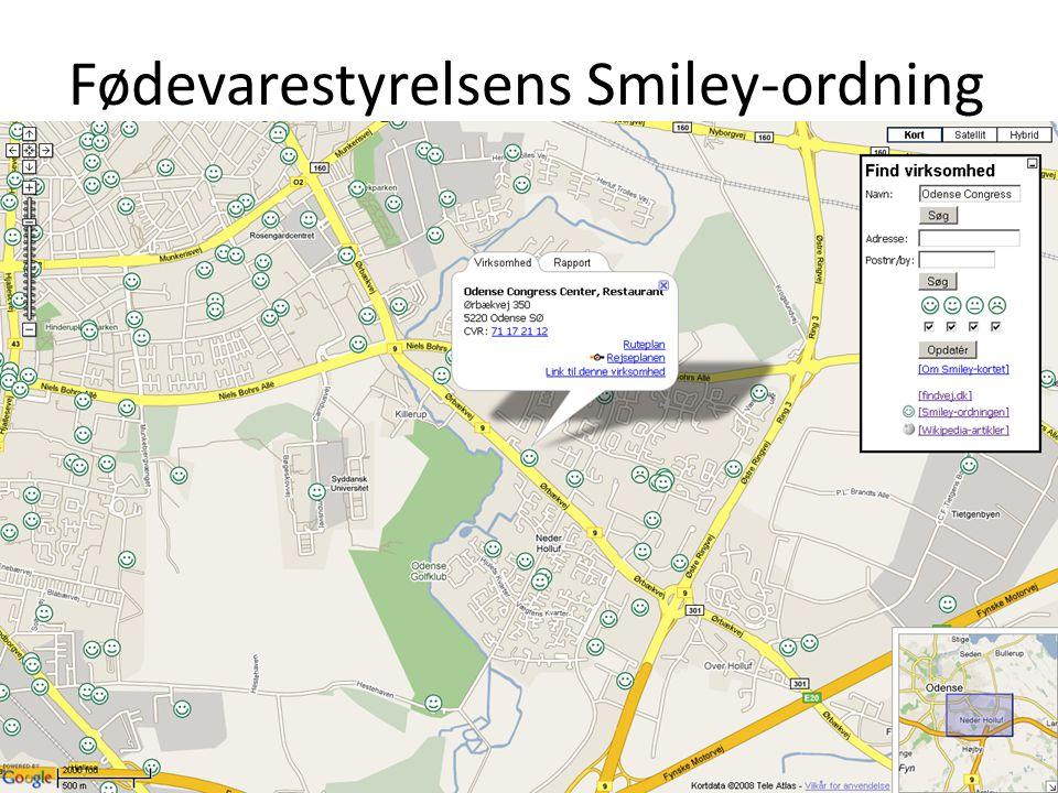 Fødevarestyrelsens Smiley-ordning