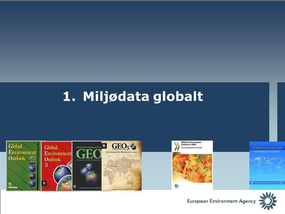 1. Miljødata globalt