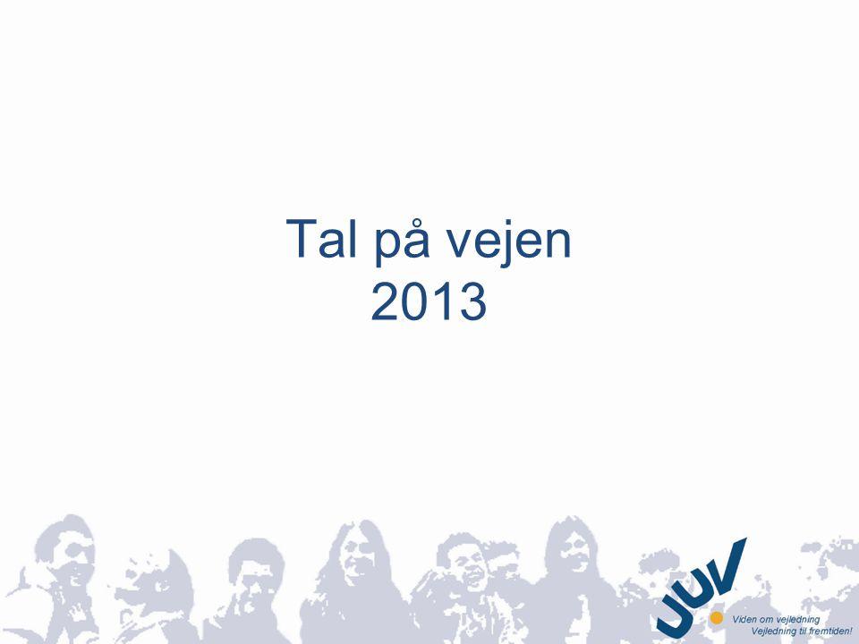 Tal på vejen 2013