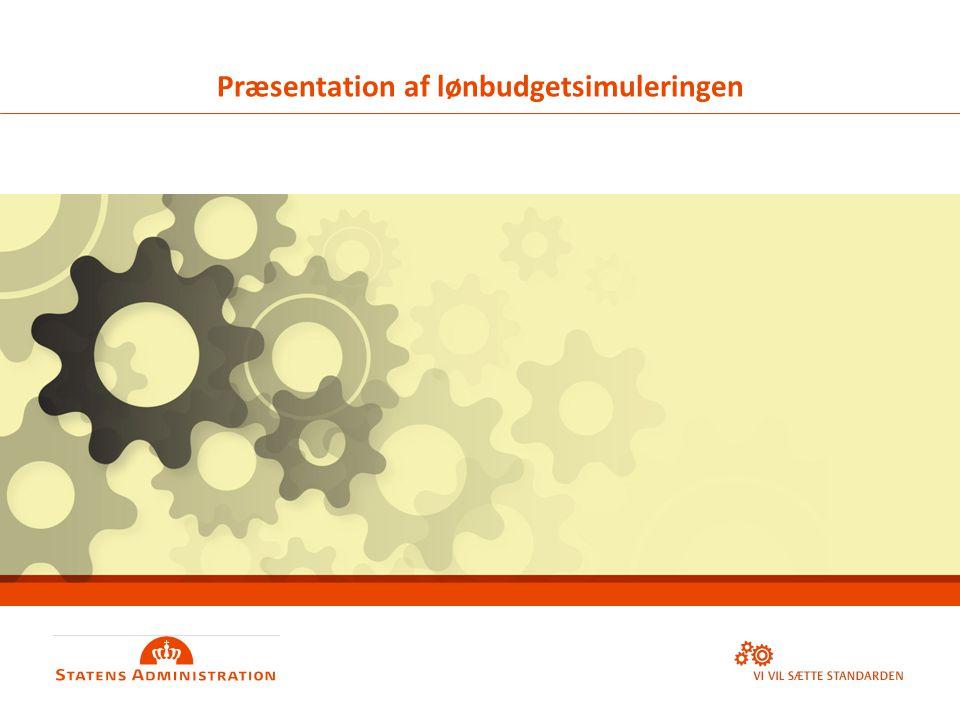 OVERSKRIFT & UNDEROVERSKRIFT: SKRIV MED STORE BOGSTAVER Primære forside Præsentation af lønbudgetsimuleringen