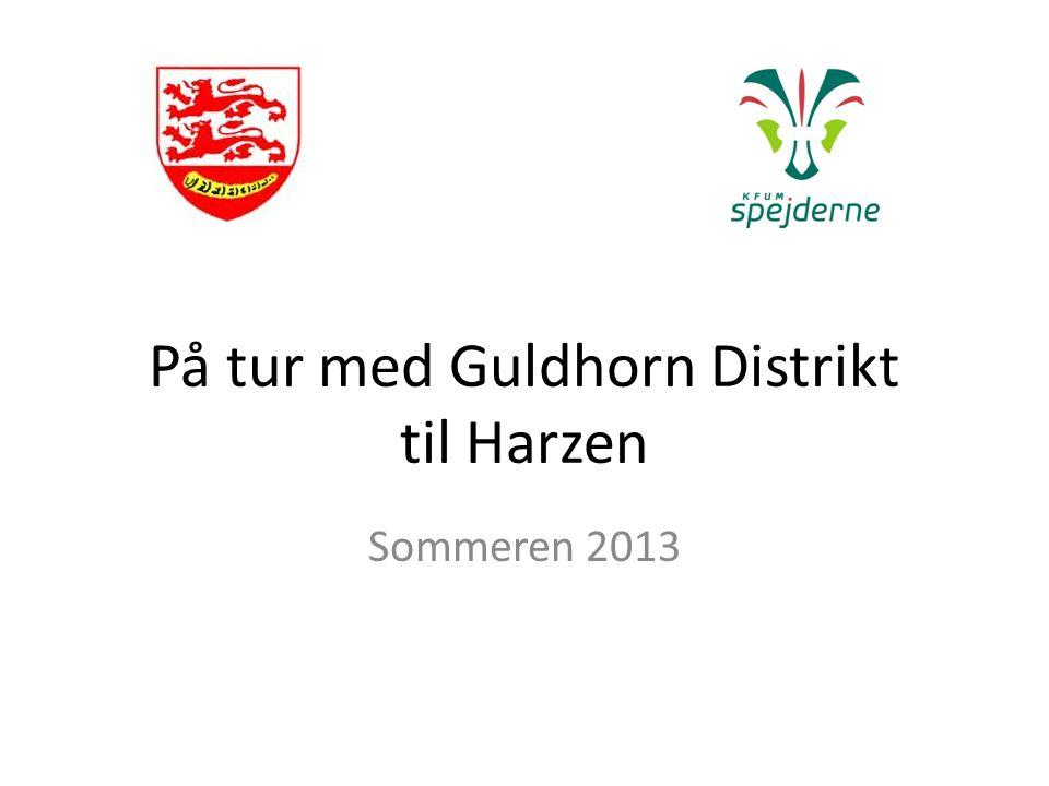 På tur med Guldhorn Distrikt til Harzen Sommeren 2013