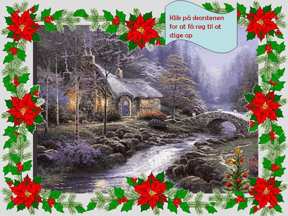 Mens vi arbejder kan vi lytte til en traditionel julesang. Klik her.