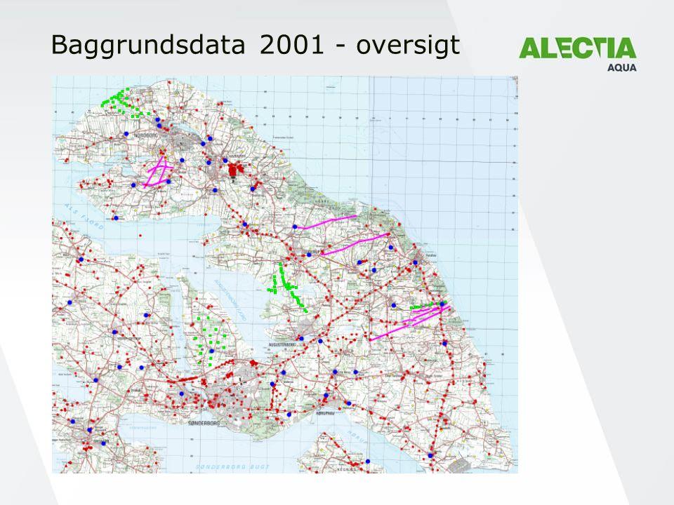 Baggrundsdata 2001 - oversigt