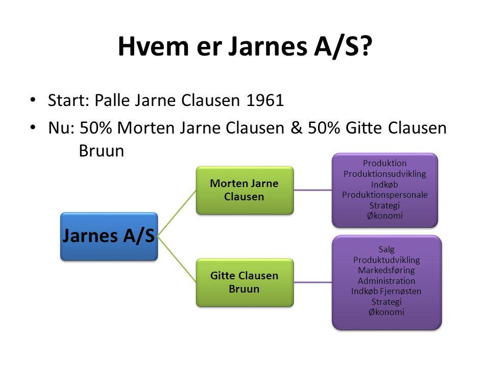 Hvem er Jarnes A/S.
