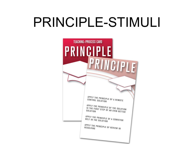 PRINCIPLE-STIMULI