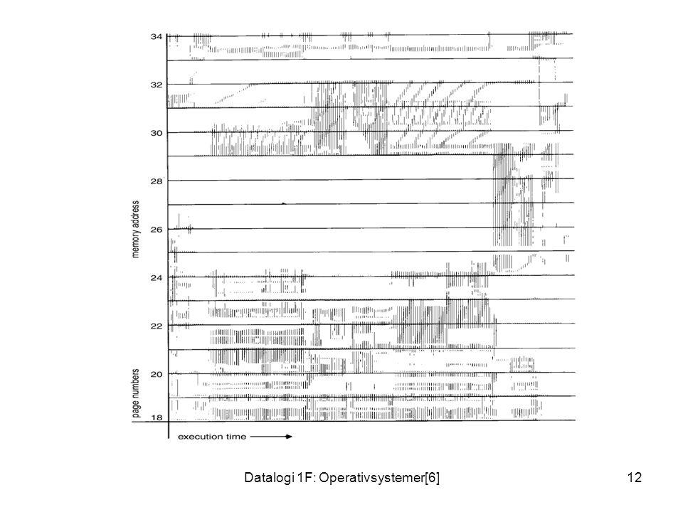 Datalogi 1F: Operativsystemer[6]12