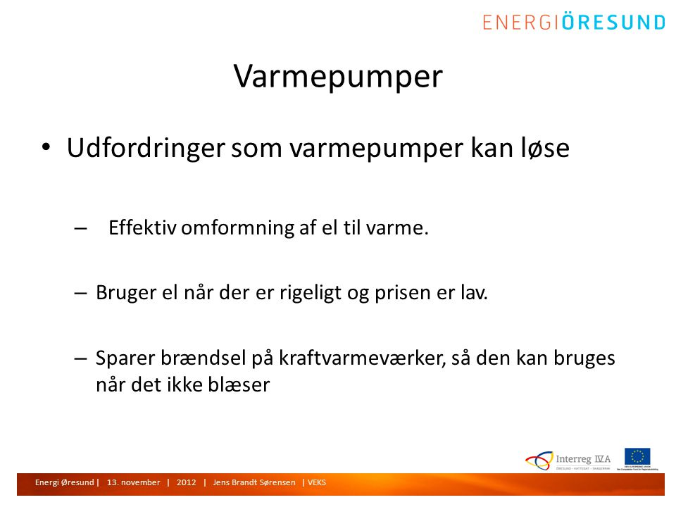 Energi Øresund | 13.