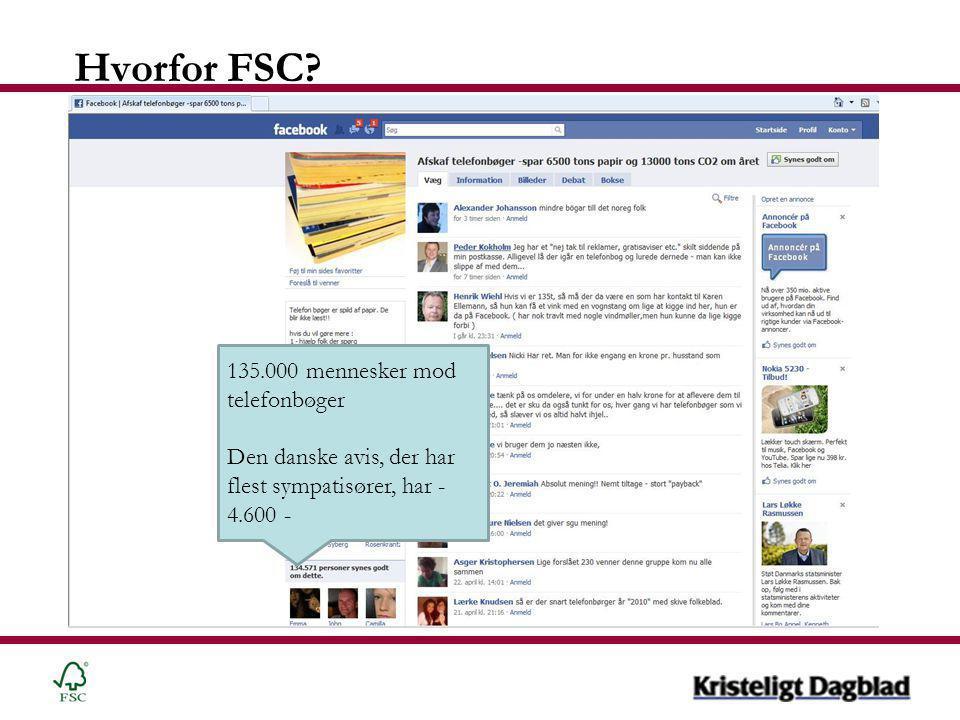 Hvorfor FSC.