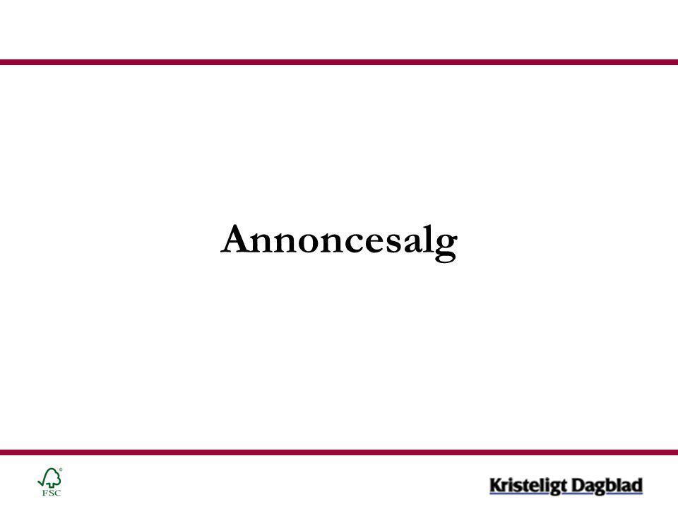 Annoncesalg