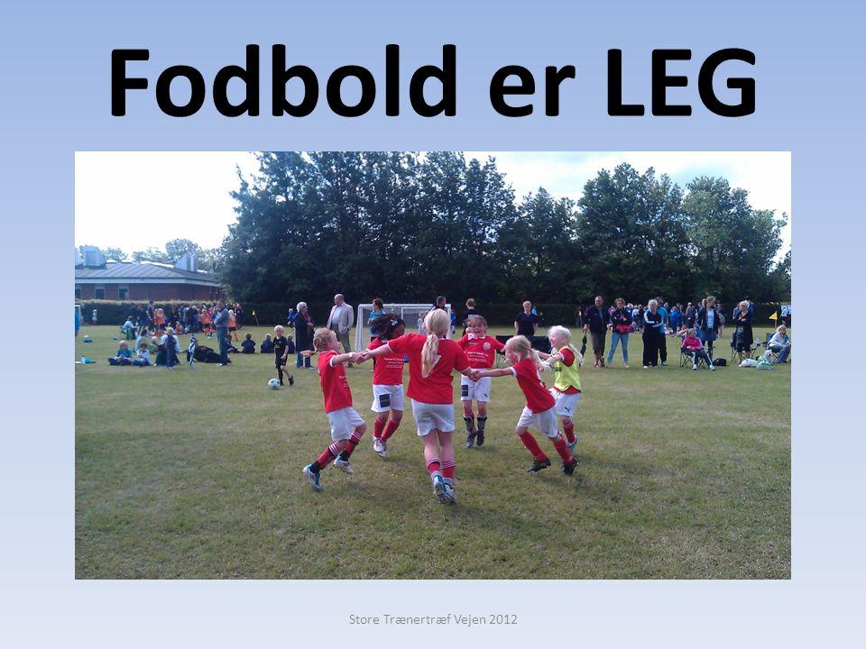 Fodbold er LEG Store Trænertræf Vejen 2012