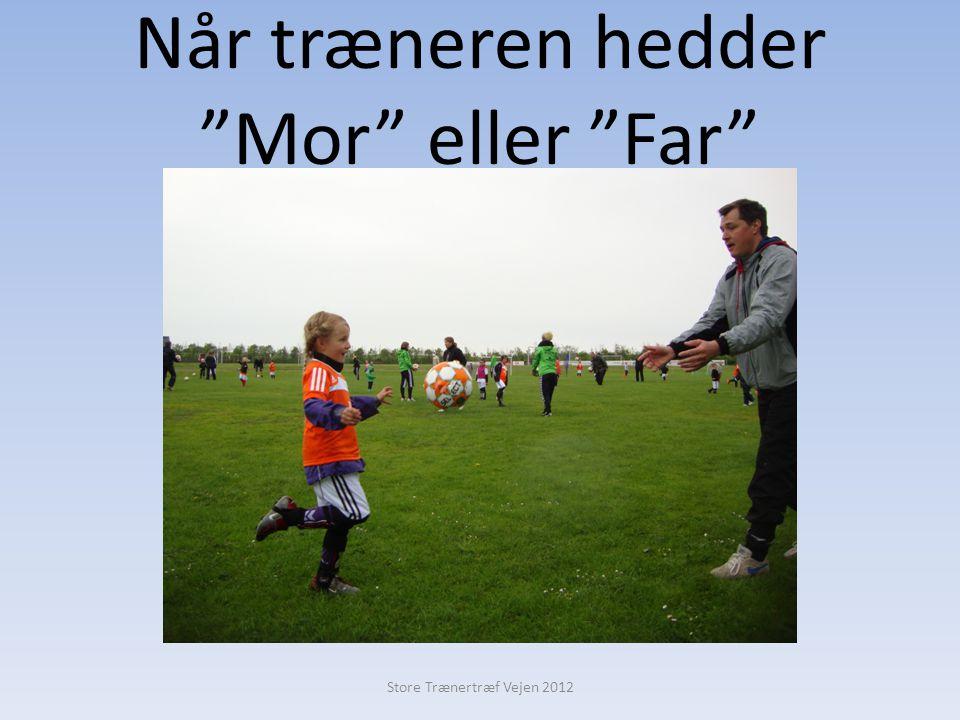 Når træneren hedder Mor eller Far Store Trænertræf Vejen 2012