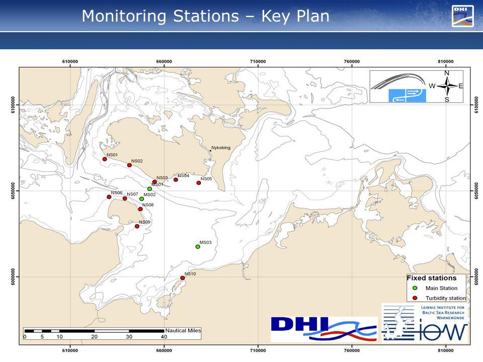 Monitoring Stations – Key Plan