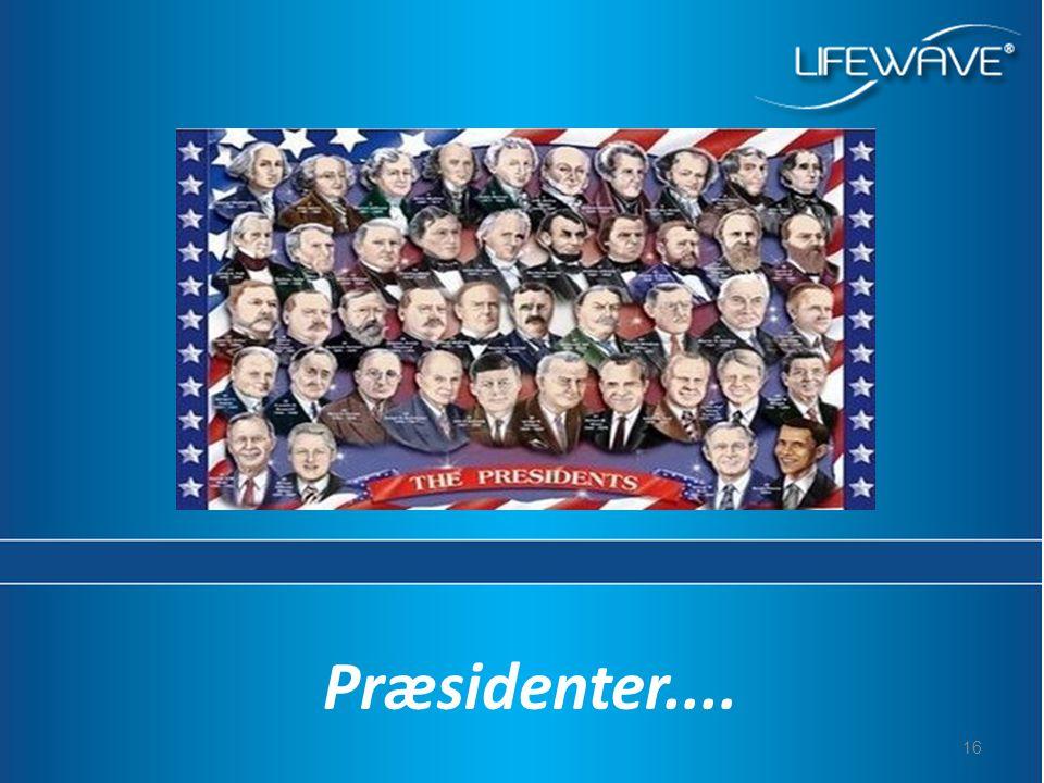 16 Præsidenter....