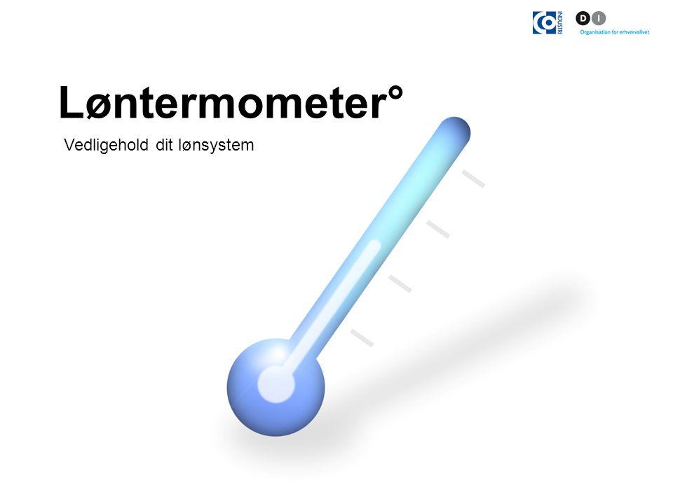 Løntermometer° Vedligehold dit lønsystem