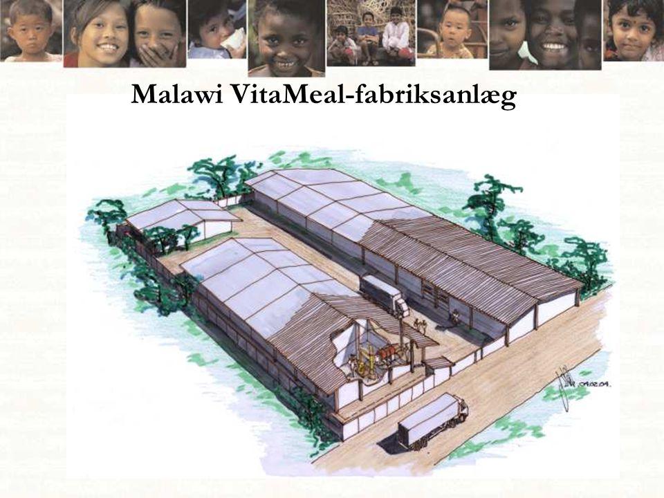 Malawi VitaMeal-fabriksanlæg