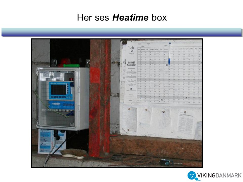 Her ses Heatime box