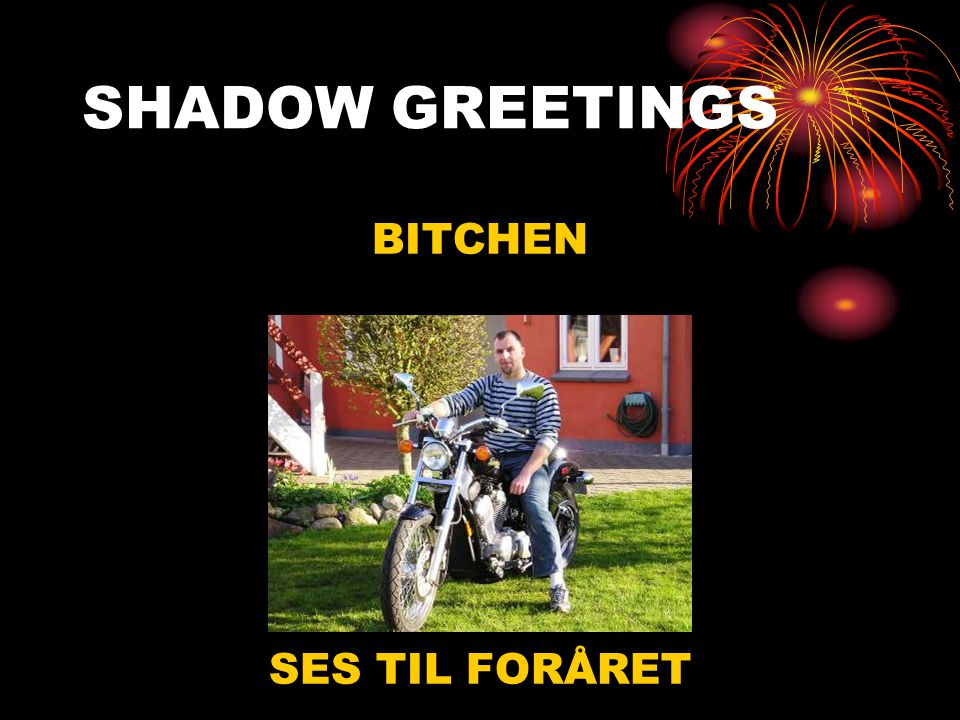 Tak til alle •Merry christmas •Happy New year