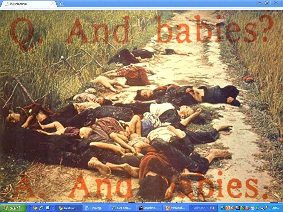Mai Lai massaken, marts 1968