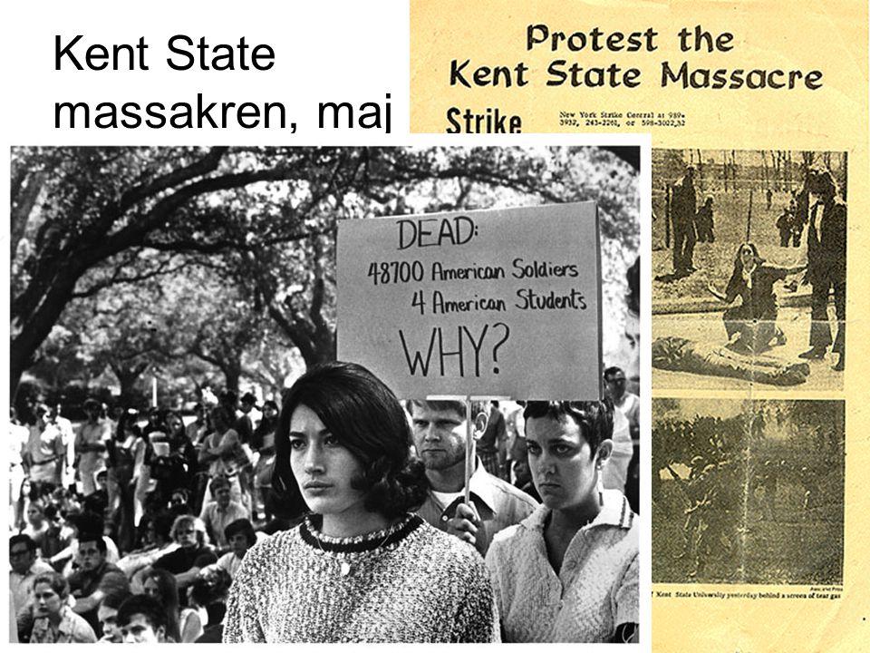 Kent State massakren, maj 1970