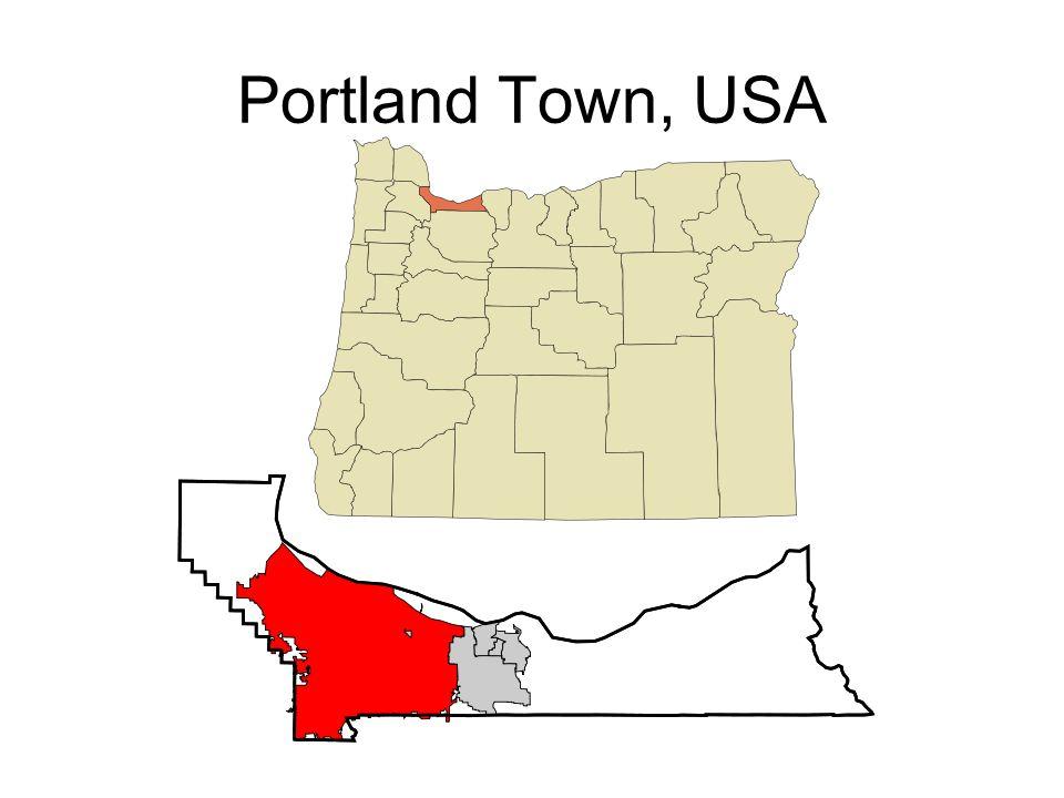 Portland Town, USA