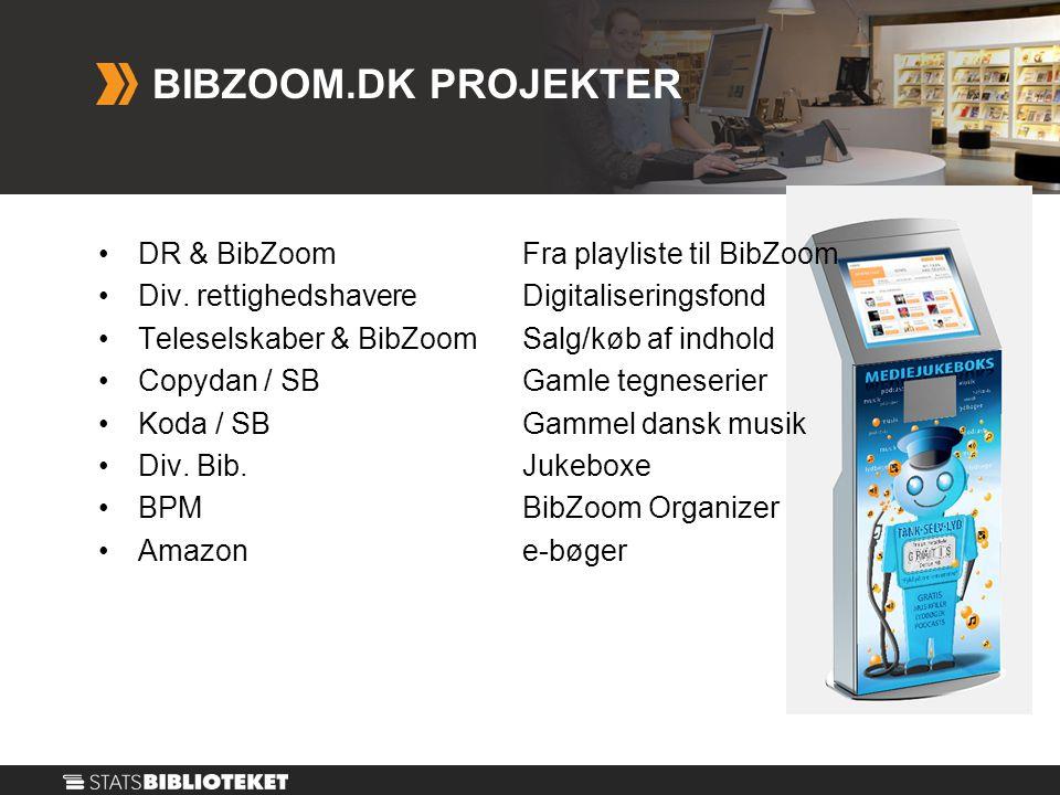 •DR & BibZoom Fra playliste til BibZoom •Div.
