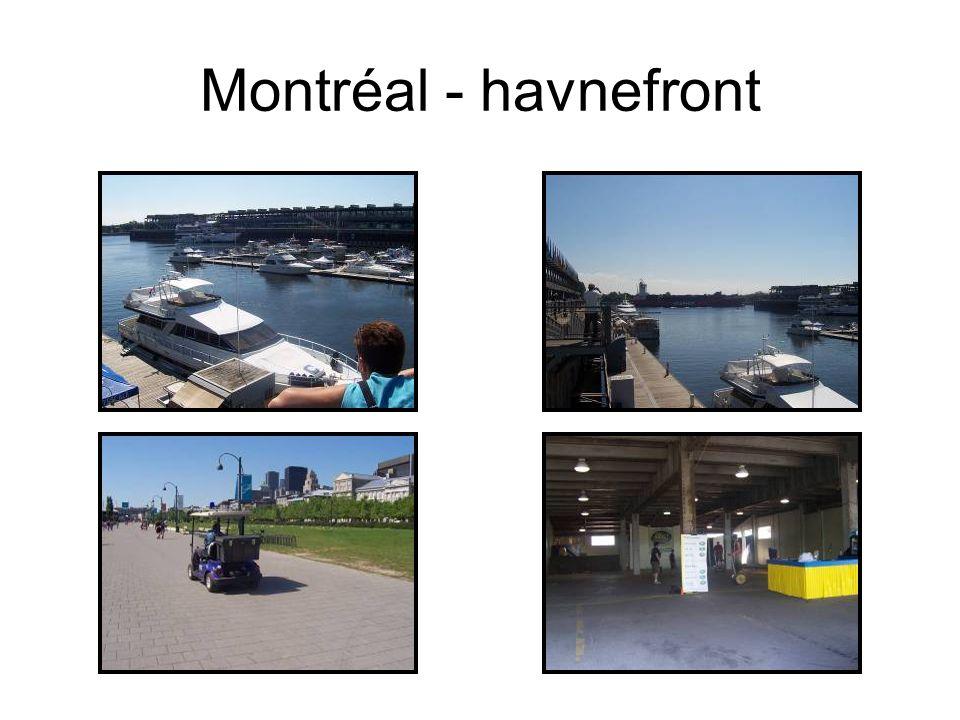 Montréal - havnefront